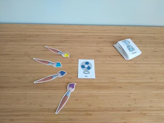 flashcards english lesson