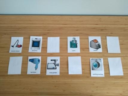 karty obrazkowe język angielski