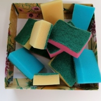 sponge lead in