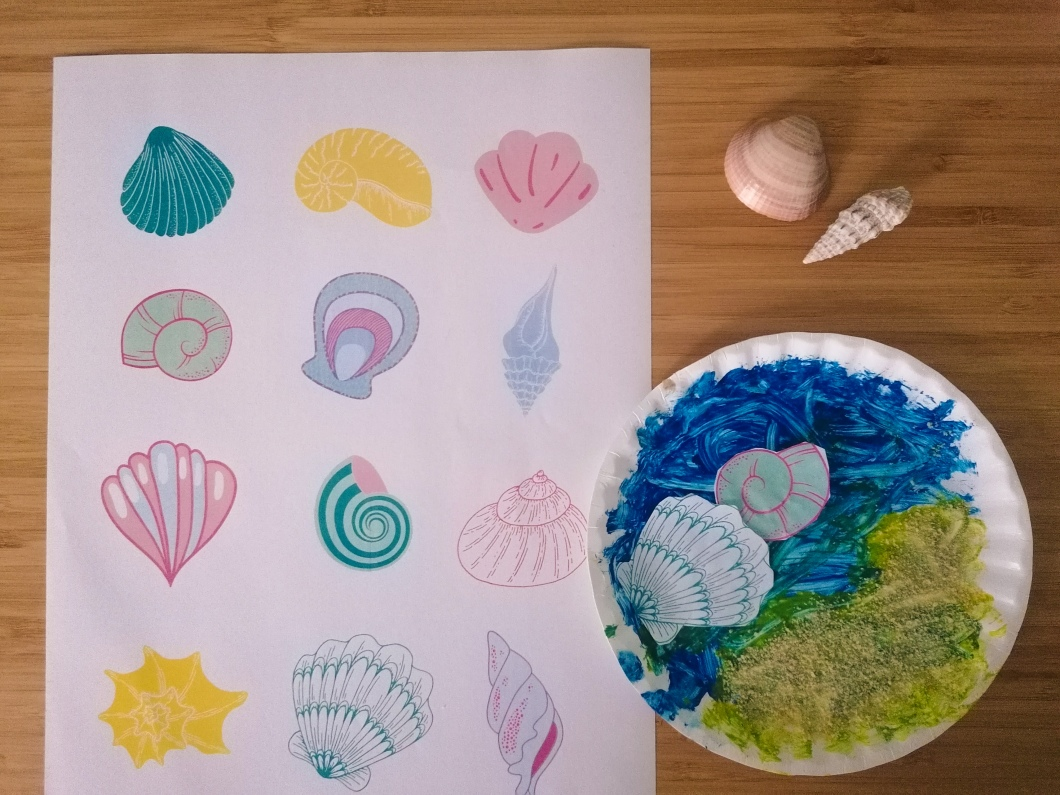 seashell worksheet